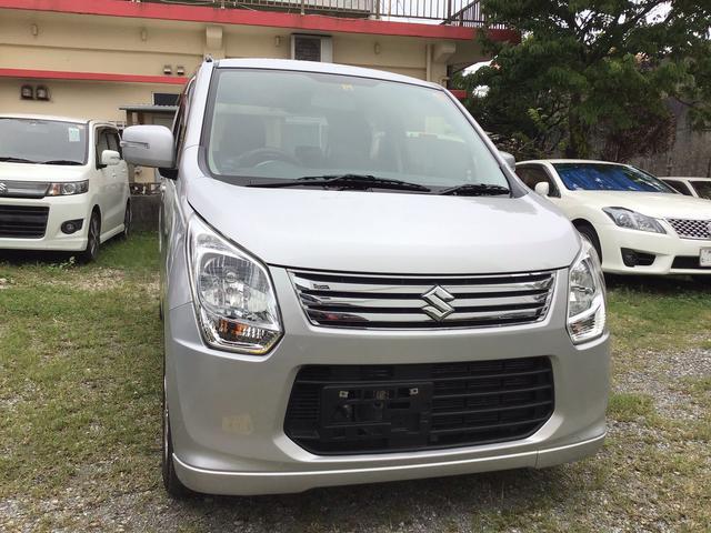 沖縄県の中古車ならワゴンR FXリミテッド ディスチャージライト 保証付