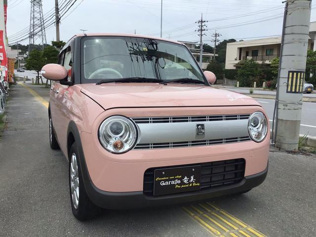 沖縄県の中古車ならアルトラパン X 衝突被害軽減システム
