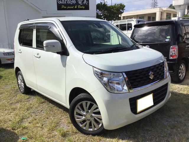 沖縄県沖縄市の中古車ならワゴンR FXリミテッド プッシュスタート レーダーブレーキサポート Bluetoothaudio 保証付