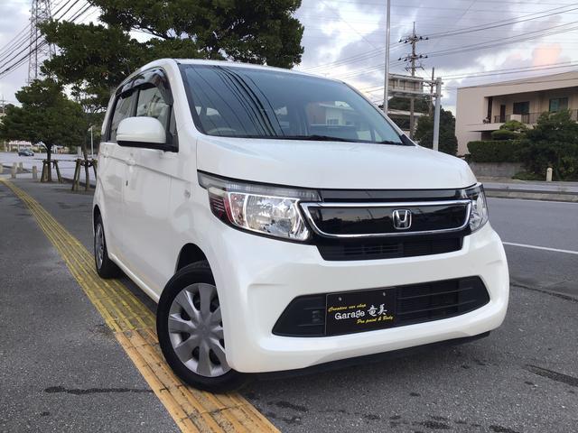 沖縄の中古車 ホンダ N-WGN 車両価格 63万円 リ済込 2015(平成27)年 3.4万km プレミアムホワイトパール
