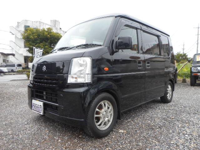 沖縄の中古車 スズキ エブリイ 車両価格 64万円 リ済込 平成21年 8.0万km ブラック