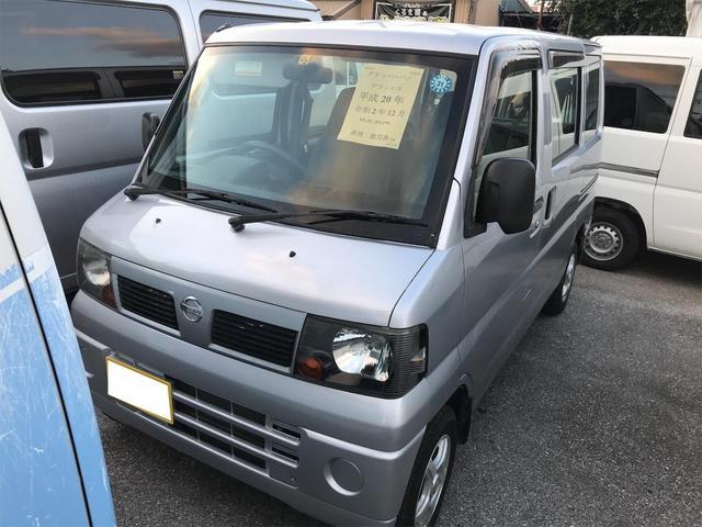 沖縄の中古車 日産 クリッパーバン 車両価格 31.9万円 リ済込 2008(平成20)年 11.5万km シルバー