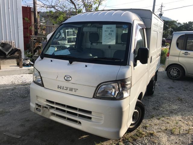 沖縄の中古車 ダイハツ ハイゼットトラック 車両価格 34万円 リ済込 2009(平成21)年 14.2万km ホワイト
