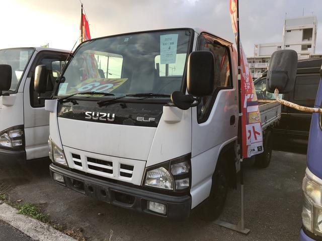 沖縄県の中古車ならエルフトラック 5速MT 基本装備