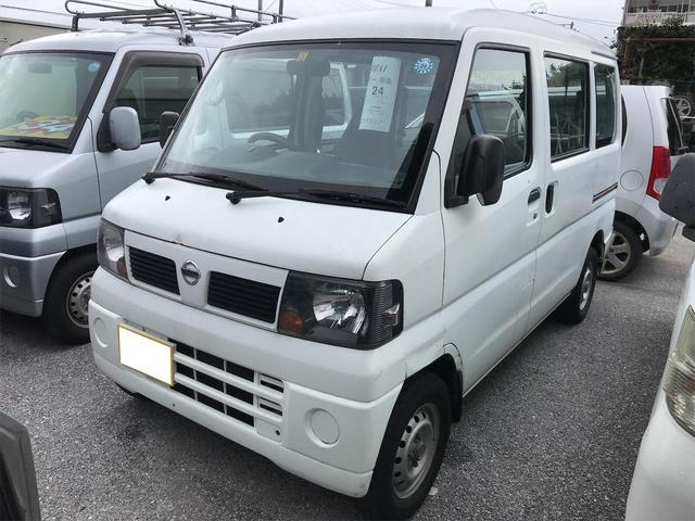 沖縄の中古車 日産 クリッパーバン 車両価格 34万円 リ済込 2010(平成22)年 9.8万km ホワイト