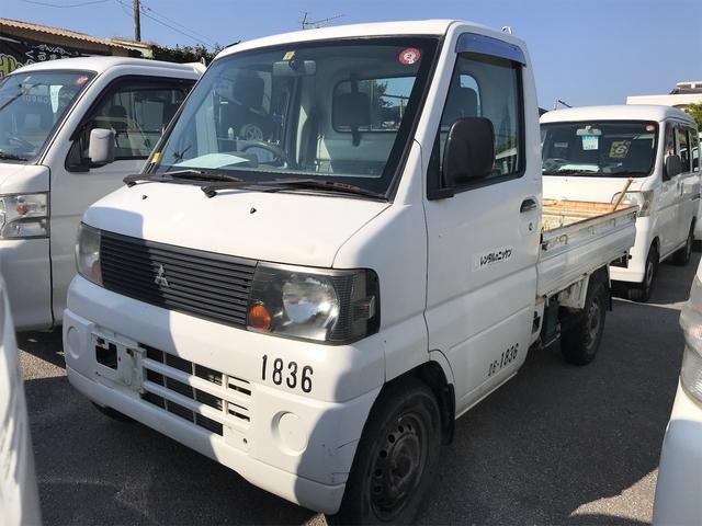 沖縄の中古車 三菱 ミニキャブトラック 車両価格 34万円 リ済込 2006(平成18)年 9.3万km ホワイト