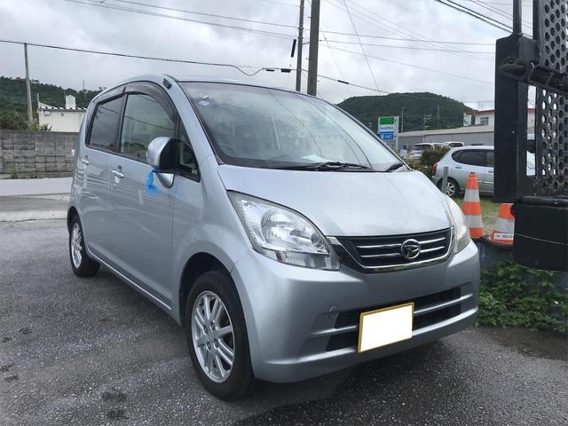 沖縄の中古車 ダイハツ ムーヴ 車両価格 30万円 リ済込 2009(平成21)年 12.6万km シルバー