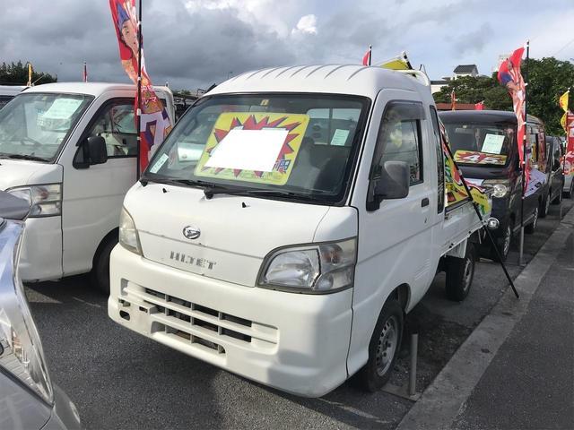 沖縄の中古車 ダイハツ ハイゼットトラック 車両価格 45万円 リ済込 2005(平成17)年 10.0万km ホワイト