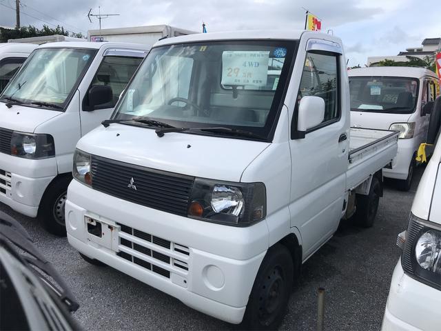 沖縄の中古車 三菱 ミニキャブトラック 車両価格 29万円 リ済込 2004(平成16)年 15.3万km ホワイト