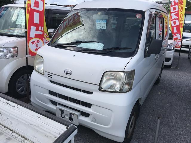 沖縄の中古車 ダイハツ ハイゼットカーゴ 車両価格 29万円 リ済込 2008(平成20)年 11.7万km ホワイト