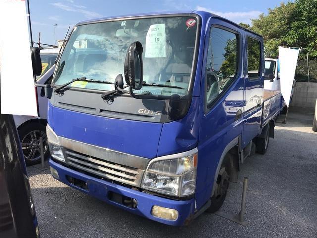 沖縄の中古車 三菱ふそう キャンター 車両価格 39万円 リ済込 2004(平成16)年 18.5万km ブルー