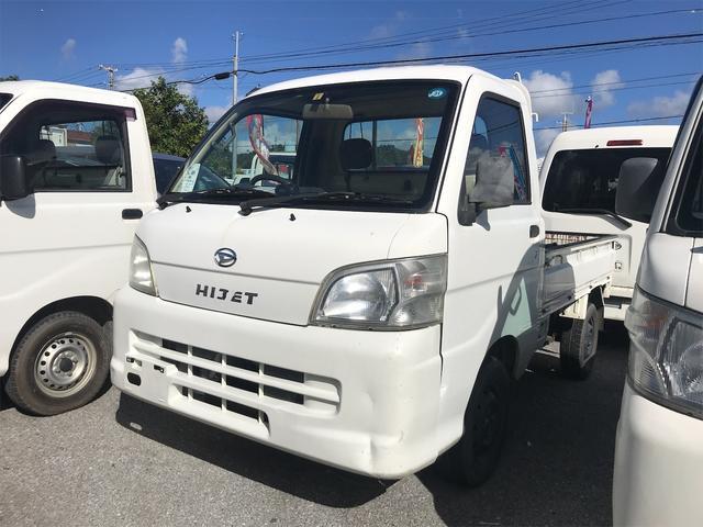 沖縄の中古車 ダイハツ ハイゼットトラック 車両価格 39万円 リ済込 2006(平成18)年 13.7万km ホワイト