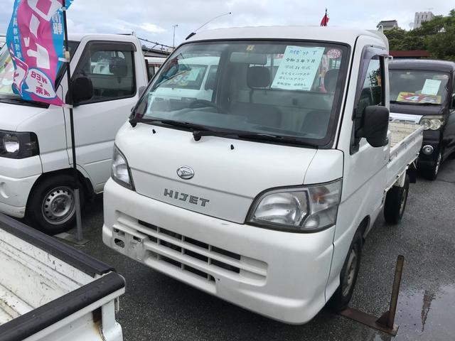 沖縄の中古車 ダイハツ ハイゼットトラック 車両価格 30万円 リ済込 2009(平成21)年 17.9万km ホワイト