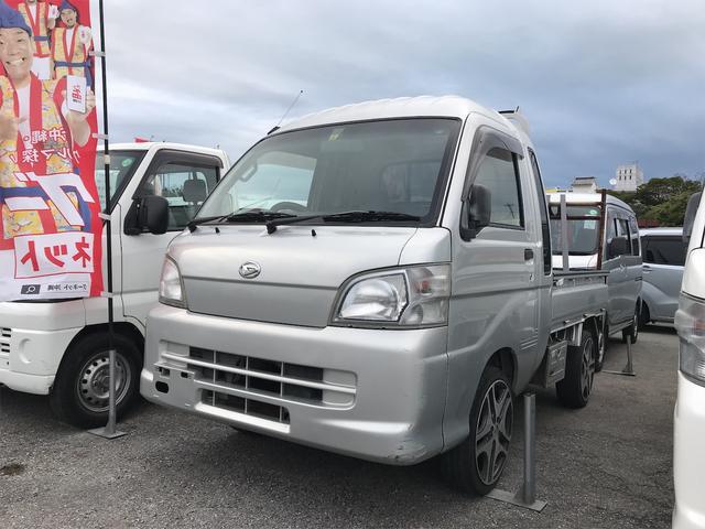 沖縄県名護市の中古車ならハイゼットトラック ジャンボ 5MT 16インチアルミ