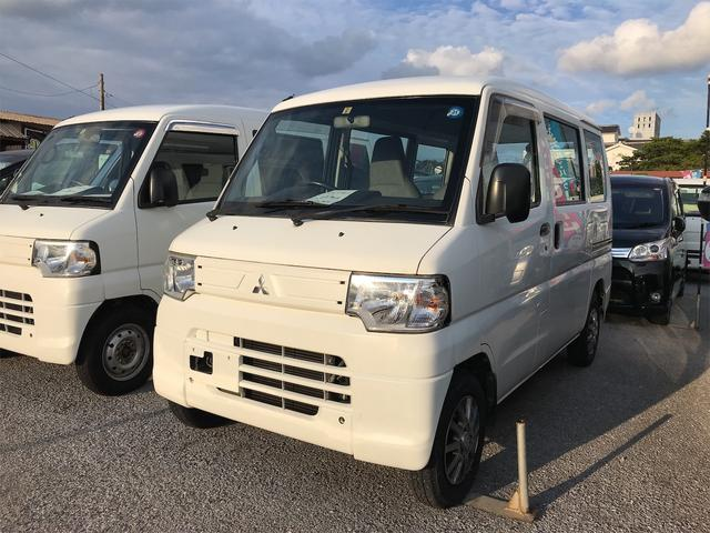 沖縄の中古車 三菱 ミニキャブバン 車両価格 39万円 リ済込 2012(平成24)年 12.3万km ホワイト