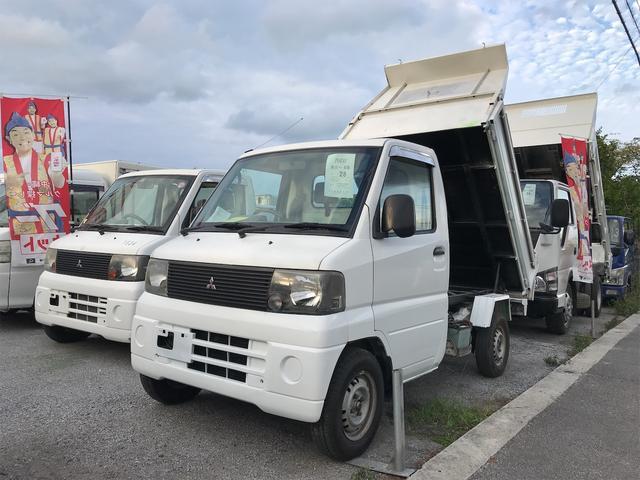 三菱 ミニキャブトラック ダンプ 5MT PTO式