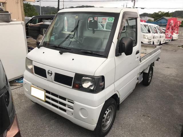 沖縄の中古車 日産 クリッパートラック 車両価格 29万円 リ済込 2009(平成21)年 14.6万km ホワイト