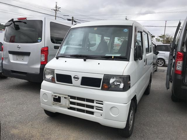 沖縄の中古車 日産 クリッパーバン 車両価格 34万円 リ済込 2010(平成22)年 13.1万km ホワイト