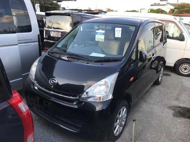 沖縄の中古車 ダイハツ ムーヴ 車両価格 34万円 リ済込 2011(平成23)年 11.2万km ブラック