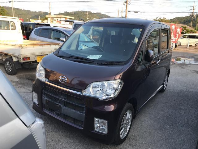沖縄県の中古車ならタントエグゼ カスタムX