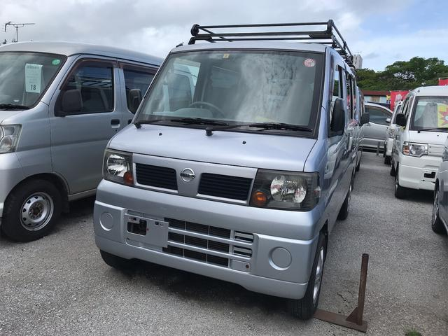 沖縄の中古車 日産 クリッパーバン 車両価格 34万円 リ済込 2007(平成19)年 10.3万km シルバー