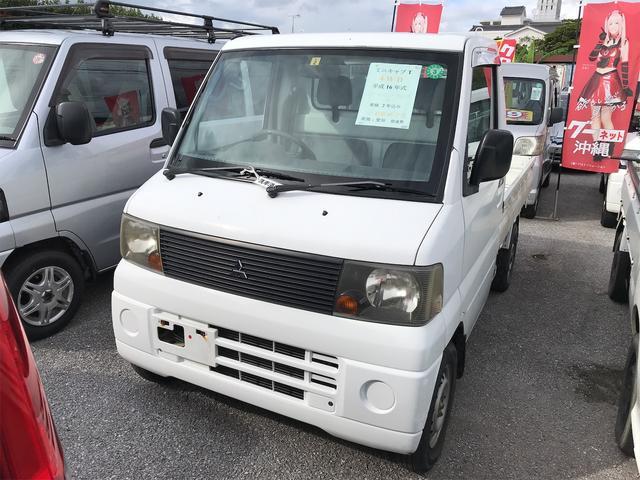 沖縄の中古車 三菱 ミニキャブトラック 車両価格 39万円 リ済込 2004(平成16)年 9.4万km ホワイト