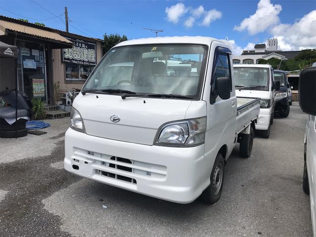 沖縄の中古車 ダイハツ ハイゼットトラック 車両価格 49万円 リ済込 2010(平成22)年 11.3万km ホワイト
