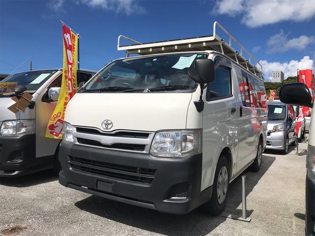 沖縄県の中古車ならレジアスエースバン ロングDX キャリアルーフ ディーゼル AT