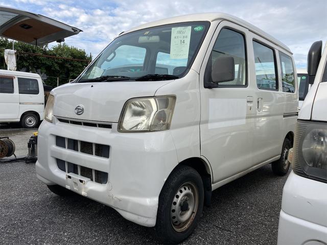 沖縄の中古車 ダイハツ ハイゼットカーゴ 車両価格 39万円 リ済込 2007(平成19)年 12.8万km ホワイト