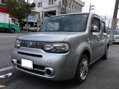 うるま市 Auto Garage S 日産 キューブ 15X ナビ TV ダイヤモンドシルバーM 17.5万K 平成20年