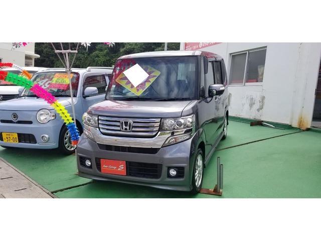 沖縄の中古車 ホンダ N-BOXカスタム 車両価格 79万円 リ済込 2012(平成24)年 6.9万km グレーM