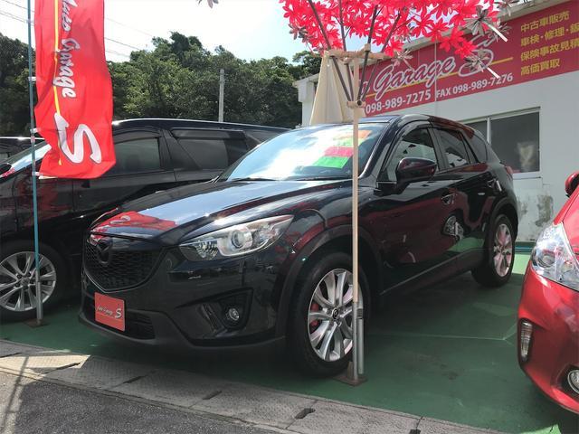 沖縄の中古車 マツダ CX-5 車両価格 139万円 リ済込 2013(平成25)年 6.9万km ブラック