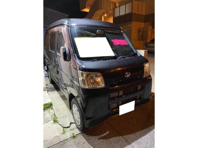 沖縄の中古車 ダイハツ ハイゼットカーゴ 車両価格 17万円 リ済込 2007(平成19)年 9.4万km ブラックM