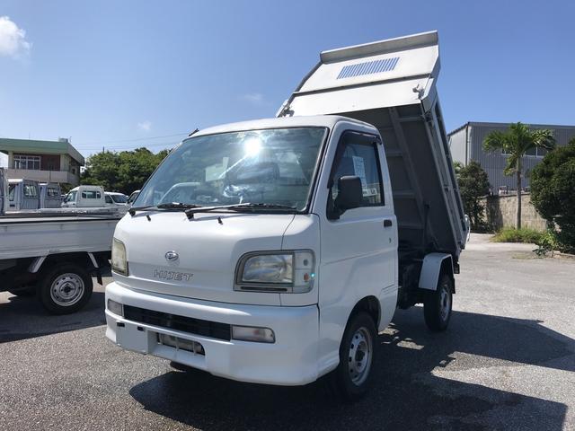 沖縄の中古車 ダイハツ ハイゼットトラック 車両価格 55.4万円 リ済込 2004(平成16)年 9.4万km ホワイト