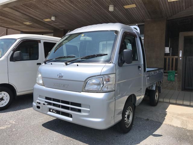 沖縄の中古車 ダイハツ ハイゼットトラック 車両価格 65.3万円 リ済込 2011(平成23)年 12.1万km シルバー