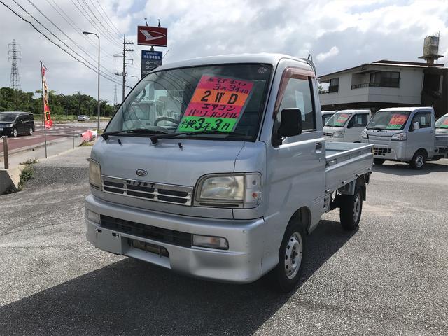 沖縄の中古車 ダイハツ ハイゼットトラック 車両価格 42.1万円 リ済込 2001(平成13)年 3.3万km シルバー