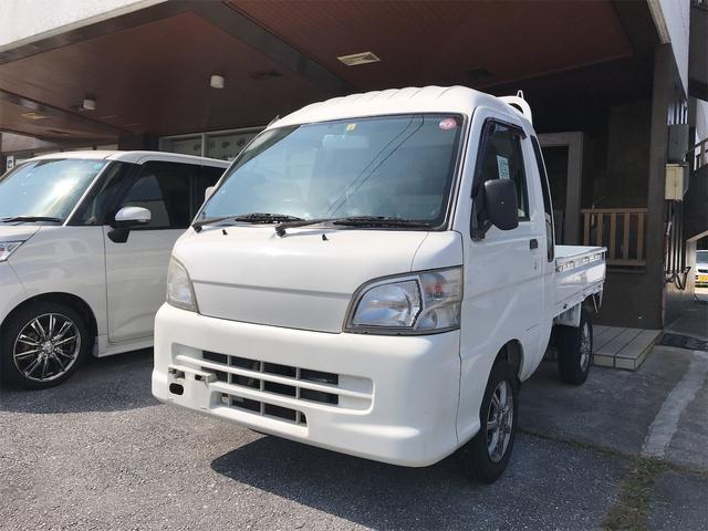 沖縄の中古車 ダイハツ ハイゼットトラック 車両価格 71万円 リ済込 2011(平成23)年 9.3万km ホワイト