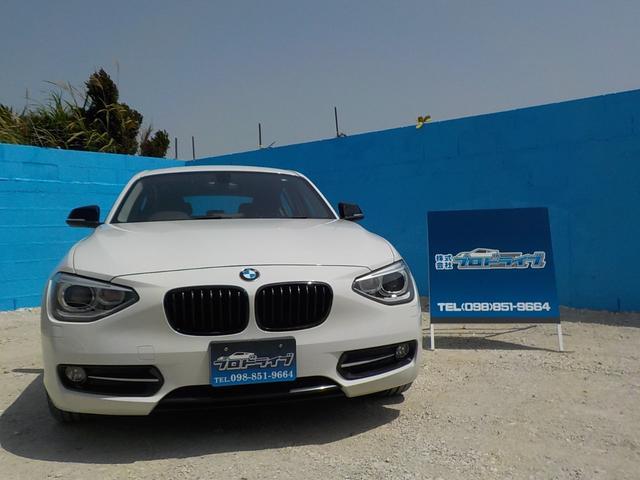 BMW 116iスポーツ内地物 グラスコーティング済