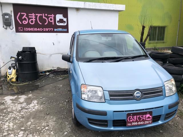沖縄の中古車 フィアット フィアット ニューパンダ 車両価格 23万円 リ済込 2006(平成18)年 5.4万km ライトブルー
