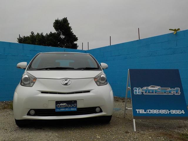 沖縄の中古車 トヨタ iQ 車両価格 59万円 リ済込 2012(平成24)年 6.5万km ホワイト