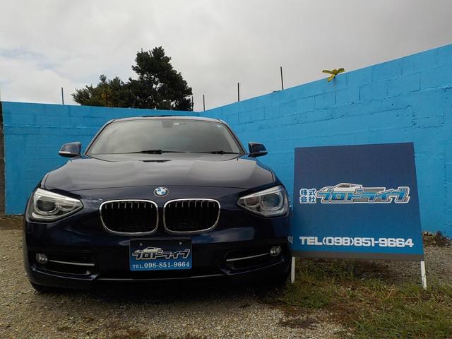 沖縄の中古車 BMW BMW 車両価格 83万円 リ済込 2012(平成24)年 4.9万km ブルー
