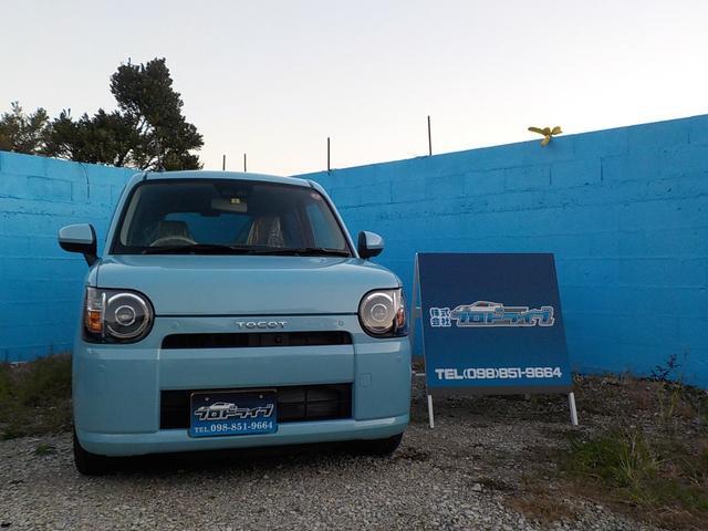 沖縄の中古車 ダイハツ ミラトコット 車両価格 108万円 リ済込 2019(平成31)年 7km ライトブルー