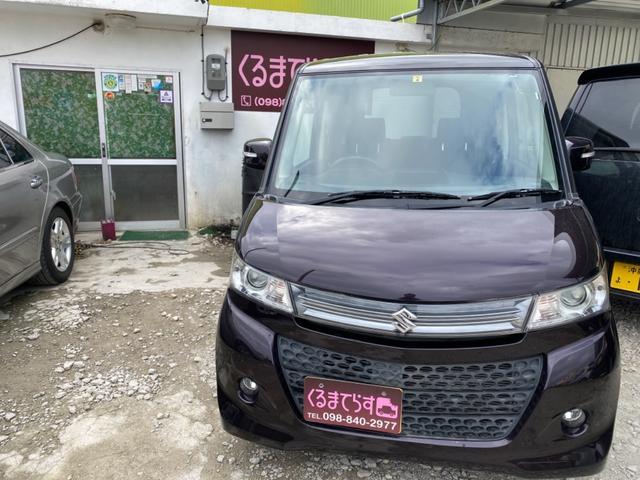 沖縄の中古車 スズキ パレットSW 車両価格 35万円 リ済込 2011(平成23)年 9.6万km ワインM