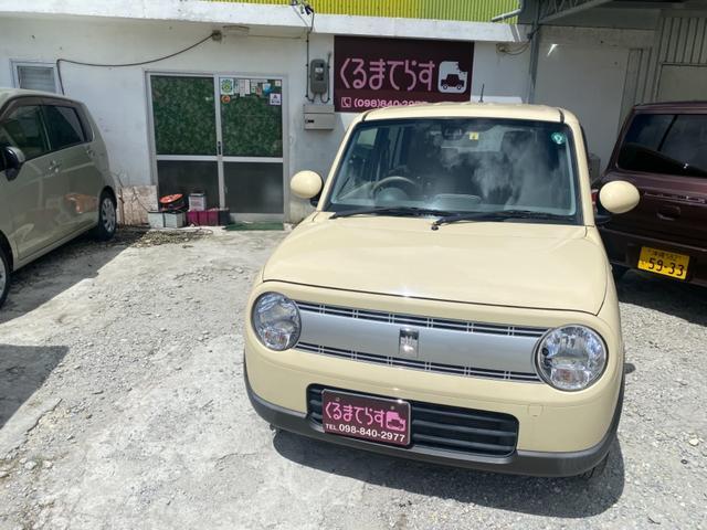 沖縄の中古車 スズキ アルトラパン 車両価格 75万円 リ済込 2017(平成29)年 4.1万km ライトブラウン
