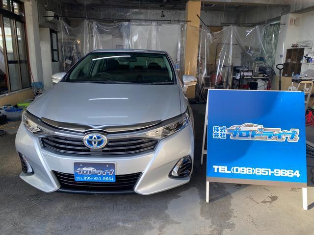 沖縄の中古車 トヨタ SAI 車両価格 120万円 リ済込 2014(平成26)年 6.1万km シルバーM
