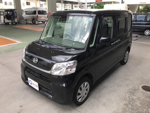 沖縄の中古車 ダイハツ タント 車両価格 113.5万円 リ済込 2017(平成29)年 2.7万km ブラック