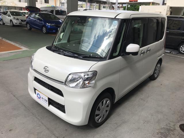 沖縄の中古車 ダイハツ タント 車両価格 113.5万円 リ済込 平成29年 2.6万km ホワイト