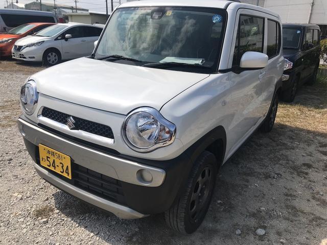 沖縄県の中古車ならハスラー G エネチャージ セキュリティアラーム レンタアップ