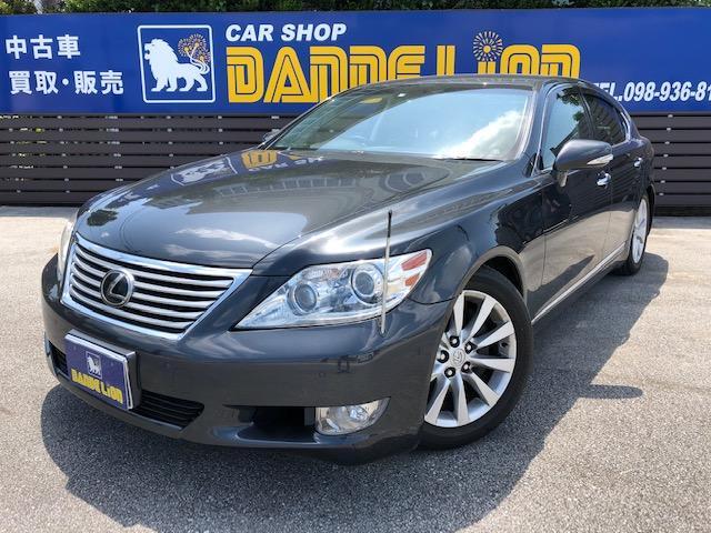 沖縄の中古車 レクサス LS 車両価格 125万円 リ済別 2011(平成23)年 16.1万km グレーM