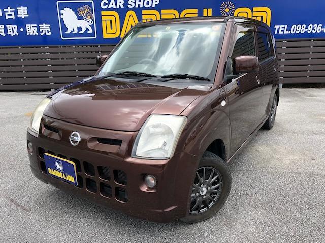 沖縄の中古車 日産 ピノ 車両価格 30万円 リ済別 2008(平成20)年 3.9万km ブラウンM